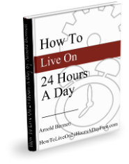 How To Live On 24 Hours A Day Book Cover